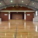 西部中学校屋内運動場